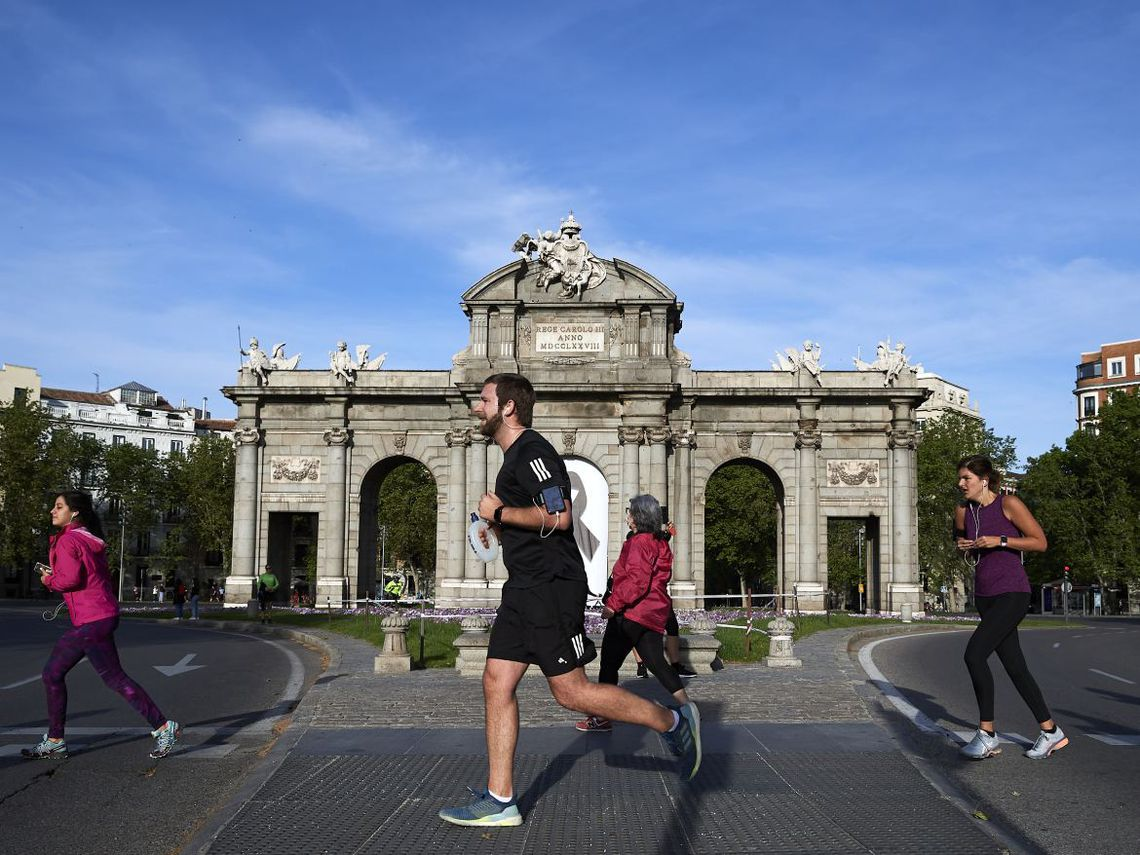 Runners en Madrid