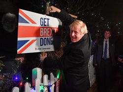 La gran victoria de Boris Johnson