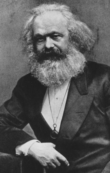 Karl Marx (1818-1883). / Getty Images